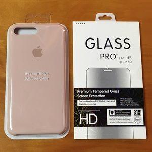 Apple,San Pink iPhone 8 Plus,7 Plus Silicon Case